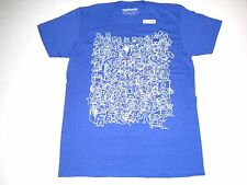 Loot Crate Exclusive Fallout 4 Vault Boy Collage Blue Size 3XL T-shirt New
