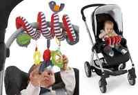 Activity Spiral BabyPlay Travel Charm Fife Pram Crib Stroller Toy Pram Toys