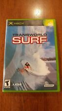 TransWorld Surf (Microsoft Xbox, 2001) MINT COMPLETE! MAIL IT TOMORROW! SURFING