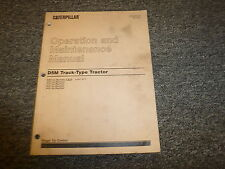 Caterpillar Cat D5M Track Type Tractor Owner Operator Maintenance Manual