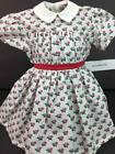 American Girl Addy's Summer~Flower Dress~1 PC~Historical~95 Pleasant Company Tag