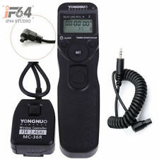YONGNUO MC-36R C3 Wireless Timer Remote For Canon EOS 7D 6D 50D 5D Mark III