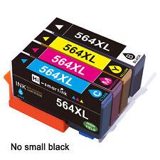 Set of 4 564 XL Ink Cartridge for HP Photosmart 7515 C510 5510 7520 C309a 5520