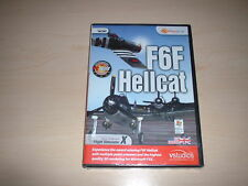 ✈️ FSX GRUMMAN F6F HELLCAT ~ FLIGHT SIMULATOR X FSX ADD-ON *NEW SEALED*