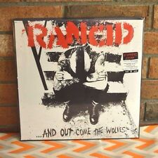 RANCID - And Out Come The Wolves, Ltd 20th Anni Import 180G BLACK VINYL OOP New!