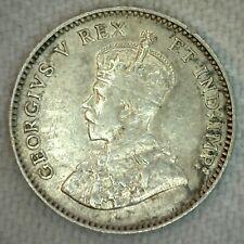 1911 Canada 5 Five Cent Coin Silver Extra Fine