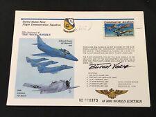 1976 US Navy Blue Angels Signed Butch Voris Commemorative Envelope