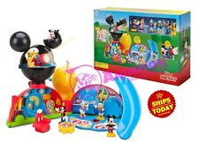 Disney Store MICKEY MOUSE CLUBHOUSE DELUXE PLAYSET Goofy Minnie Donald 2018