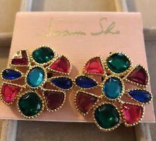 Vintage Fashion Clip on Earrings by Joann She