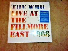 The Who - Live at The Fillmore East: Saturday April 6, 1968 ; 3-LP set ; New & S