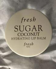 Fresh Sugar Coconut Hydrating Lip Balm .21 Oz. Full Size New Without Box