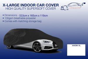 XL Black Indoor Car Cover Protector Chevrolet Silverado 2500 1999-2015