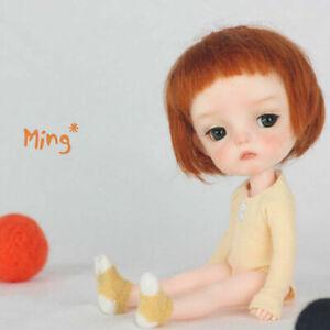 Mini 1/8 Resin BJD Doll Lifelike Dolls Joint Body Girl Gift Bare Eyes Makeup Toy
