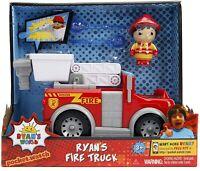 Jada Toys Ryan's World Fire Truck with Ryan Figure