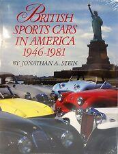 British Sports Cars in America 1946-1981 MG Jaguar Austin Healey Triumph Book