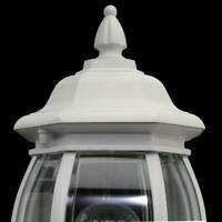 Hampton Bay 1-Light White Outdoor Wall Lantern HB7027-06