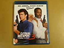 BLU-RAY / LETHAL WEAPON 3 / L'ARME FATALE 3 ( MEL GIBSON, DANNY GLOVER )