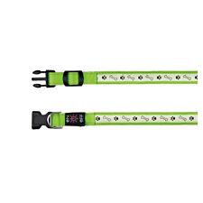 Trixie Flash Leuchthalsband Blink oder Dauerlicht USB S-m rot