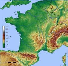 France TOPO GPS Map for Garmin Devices
