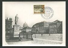 BERLIN MK 1963 218 ALT-BERLIN MAXIMUMKARTE CARTE MAXIMUM CARD MC CM d1510