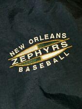 NWT Vtg NOS NEW ORLEANS ZEPHYRS  rain Workout Windbreaker L jacket
