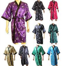 Silk Blend Robe Unbranded Kimono Nightwear for Women