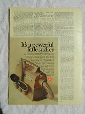 1970 Magazine Advertisement Page For Hoover Swingette Vacuum Cleaner Sweeper Ad