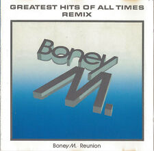 Boney M. Reunion CD Greatest Hits Of All Times - Remix - Germany (EX/EX)