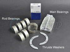 Clevite Engine Bearings Set Main Rod Thrust STD K20 K20A2 K20Z1 02-06 RSX Type S