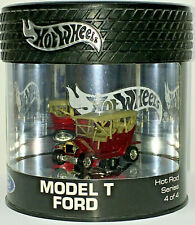 Hot Wheels Oil Can Series MODEL T FORD w/RRs (Red) 1/7,000