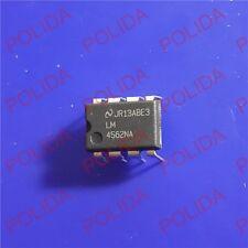 10PCS Audio OP AMP IC NSC DIP-8 LM4562NA LM4562NA/NOPB