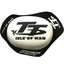 RST Isle Of Man TT IOM Knee Sliders 1780 for Motorcycle Trousers/Suits - White