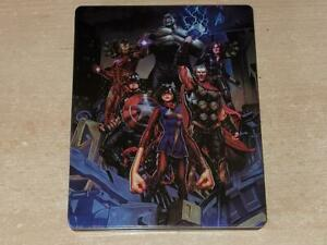 Marvel Avengers Videogame Limited Edition Steelbook Case Only (NO GAME, Scruffy)