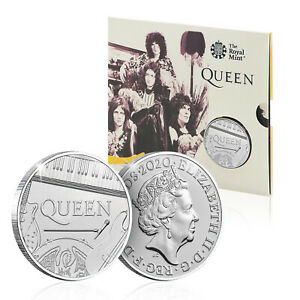 Royal Mint Queen £5 Coin Official BU Five Pound Bohemian Rhapsody Collectable