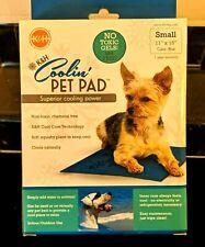 "K&H Coolin Pet Pad/ Non Toxic Gel Sm 11"" x15""/ Blue NIB"