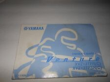 Yamaha Owner's Manual Venture XVZ13TFR TFSR Printed 05/2002  # LIT-11626-16-15