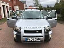 2006 LAND ROVER FREELANDER TD4 S S/W 4X4 LOW MILES FULL MOT FULL LEATHER SENSORS