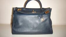 Hermes Kelly Bag 35, dunkelblau (Original)