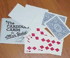 Cardinal Cards (vintage set, 1980's Meir Yedid) - cool Wild Card effect Tmgs