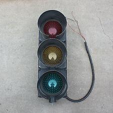 Aldridge LED 3 Aspect Traffic Light with built-in transformer man cave go cart