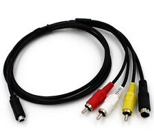 AV A/V TV Video Cable Cord Lead For Sony Camcorder Handycam DCR-SR36E DCR-SR37E