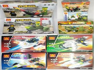 GIFT PACK - STAR WAR & MILITARY SERIES BUILDING BLOCKS (9 SETS IN GIFT PACK)