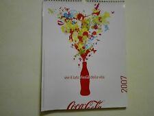 Calendario coca cola da collezione del 2007