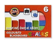 Koh-i-noor Pizarra Tiza-Cajas de 6 Colores Surtidos