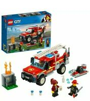 LEGO City 60231 Fire Chief Response Truck - New