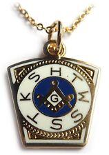 ROYAL ARCH ORDER Keystone Masonic Freemason Jacket Bag Coat ZIPPER PULL CLIP