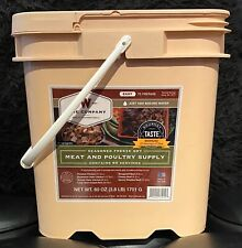 New Wise Company Freeze Dry Meat & Poultry Emergency Food Supply 60 Servings