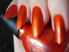 NEW! SINFUL COLORS Nail Polish Lacquer in COURTNEY ORANGE