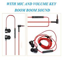 HK5 Earphone Handsfree Headset with Mic Volume Key For LG Max,G4 Beat,Band Play