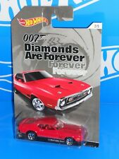 Hot Wheels Wal-Mart 2015 Bond 007 Diamonds Are Forever '71 Mustang MACH 1 Red
